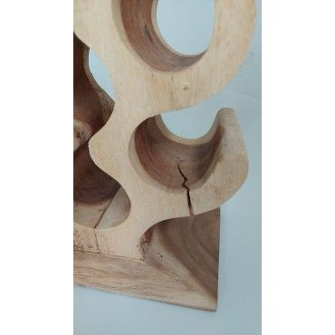 OUTLET Exotic wine rack for...