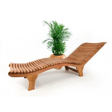 Deck sun lounger