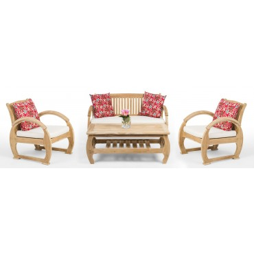 EURUS - a teak wood set of...