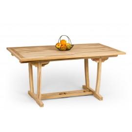 Rectangular Teak wood garden table