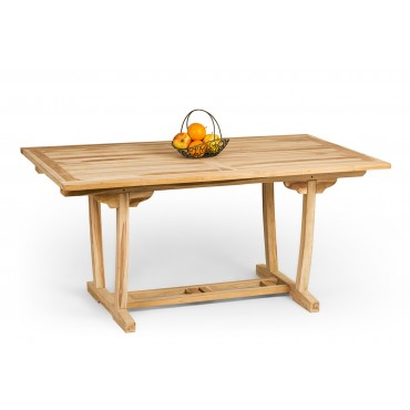 Rectangular Teak wood garden table