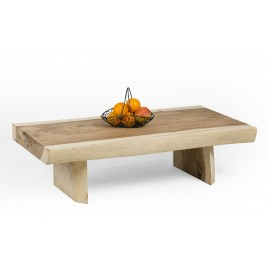 Coffee table, bench, exotic Suar wood