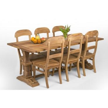 Stół bizantyński z drewna...