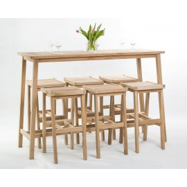 Garden and catering set Anat 6 os, Teak