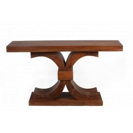 Turan console made of Suar wood