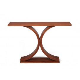 The Andar mahogany console
