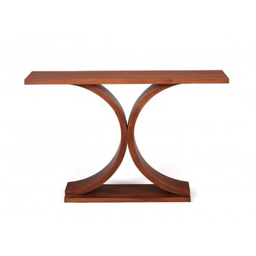 The Andar mahogany console
